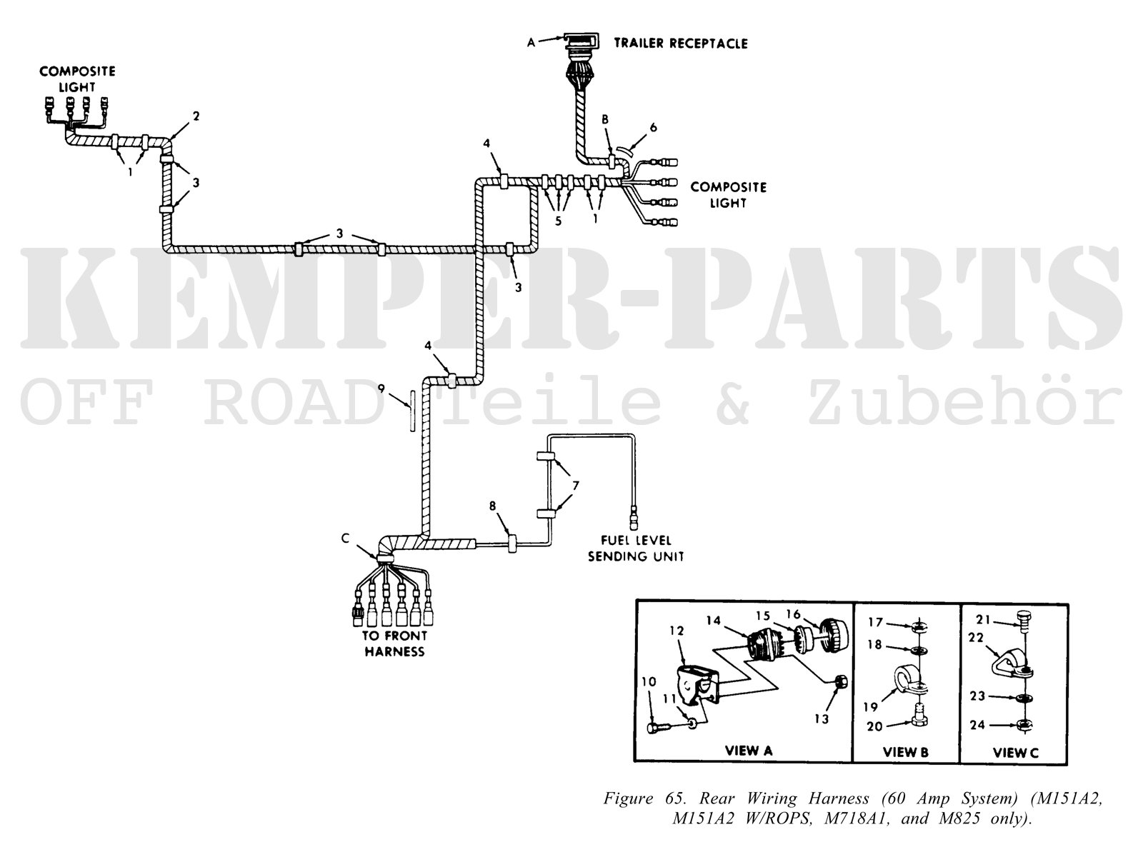 M151 A2 Wiring Harness - Rear M Wiring Diagram on 66 block wiring diagram, hmmwv wiring diagram, m38a1 wiring diagram, gpw wiring diagram, m35a2 wiring diagram, m55 wiring diagram, m38 wiring diagram, m37 wiring diagram, m12 wiring diagram, m939 wiring diagram, 1942 jeep wiring diagram, cucv wiring diagram, 67 camaro dash wiring diagram, m151a2 wiring diagram, m151a1 wiring diagram, 69 chevelle wiring diagram, m47 wiring diagram, m715 wiring diagram, 66 chevelle wiring diagram, m1009 wiring diagram,