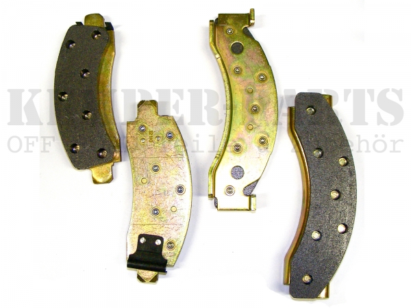 Chevrolet K30 Brake Shoe front - Set for one Axle