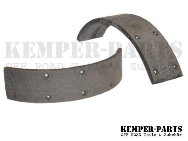 M151 Bremsbelag / Bremsbeläge Set