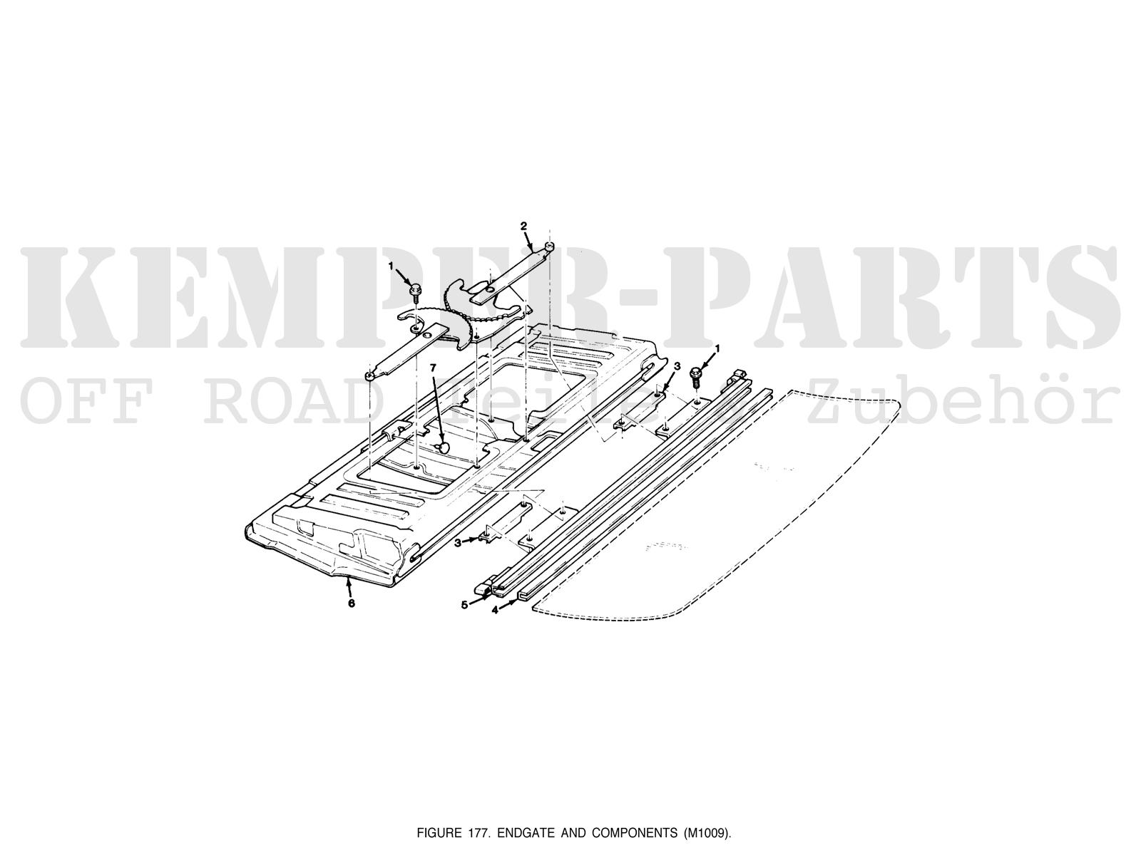 Windows Chevrolet Blazer K5 Kemper Parts