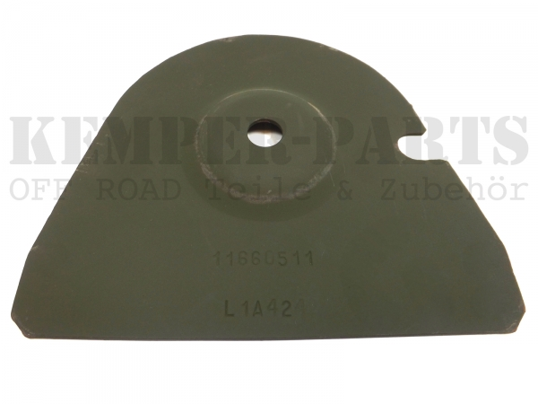 M151 Spare Wheel Fixing Plate