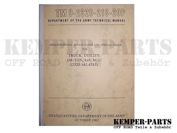 M151 Manual TM 20P