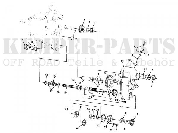 M151 Gear Transfer