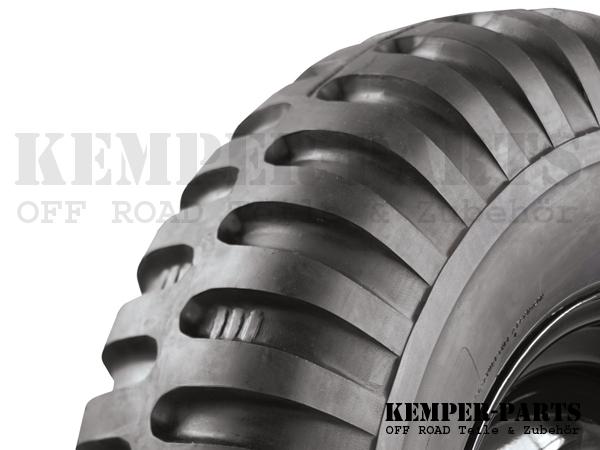 M151 Reifen 7.00 x 16 Originalprofil
