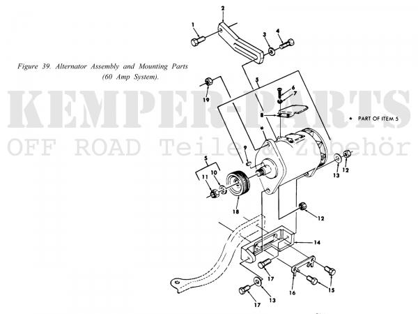 M-Serie Lichtmaschine 25 Ampere