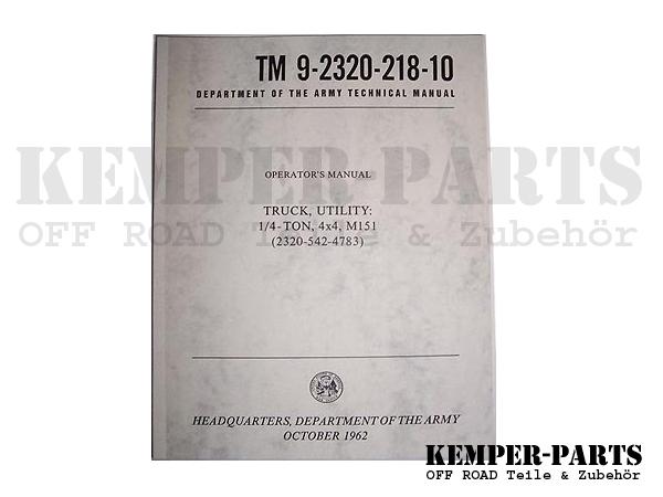 M151 Manual TM 10
