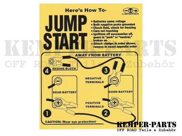 M151 Aufkleber - Jump Start