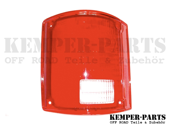 Chevrolet Rear Lamp Glass Right