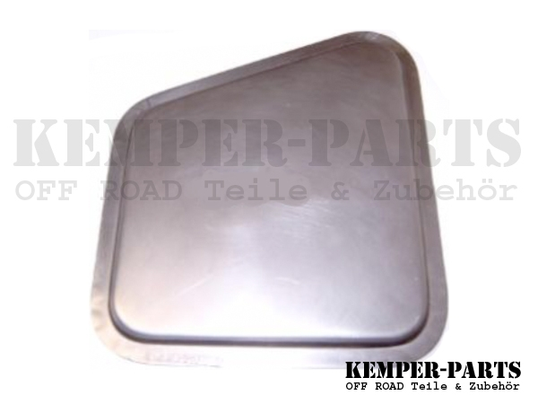 DKW MUNGA Repair Plate Base Left Side
