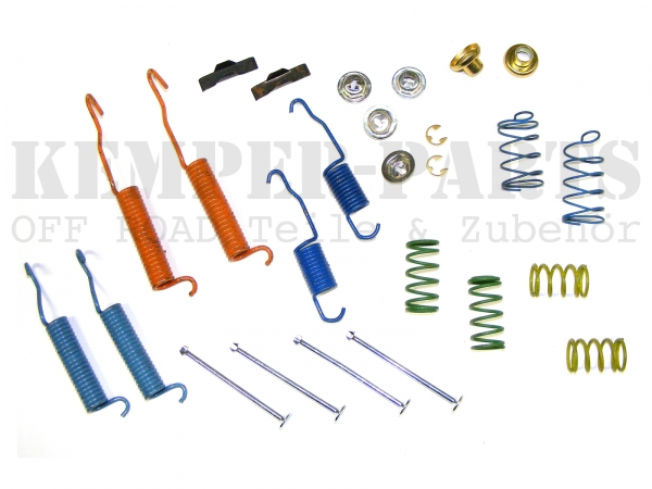 Chevrolet K30 Bremsfedern Kleinteile Kit Bremsbacken