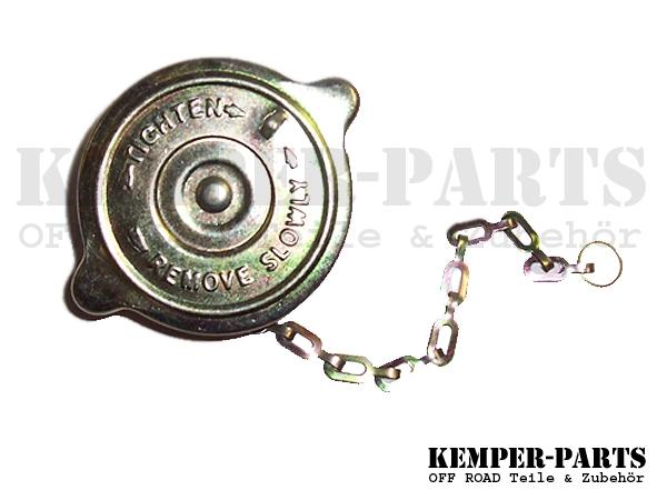 M151 Kühlerdeckel mit Kette